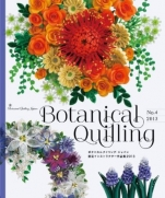 Botanical quilling Japan Certified Instructor 2013
